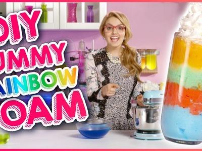 EDIBLE RAINBOW FOAM DIY!!! w. Project Mc²