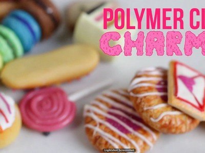 Gemr +  Polymer Clay Charm Collection