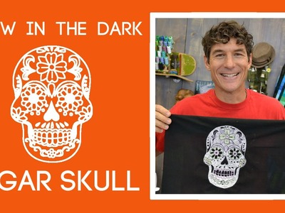 Glow in the Dark Sugar Skull: Easy Sewing Tutorial with Rob Appell of Man Sewing