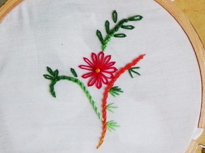 Hand Embroidery: Português Knot