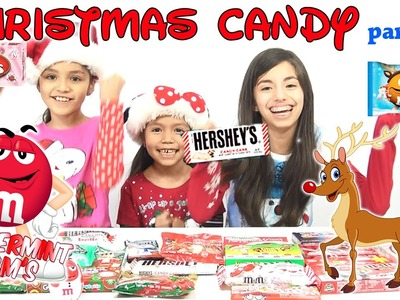 HOLIDAY CANDY Taste Testing Part 1 | KidToyTesters