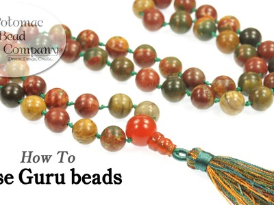 How to Use Guru Beads to make Malas