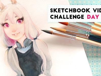 I'm Back! | Sketchbook Video Challenge: DAY 26