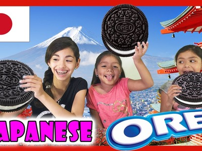 Japanese Oreo Cookie Taste Test