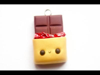 Kawaii Chocolate Bar Charm Tutorial ✿ PastelDaisy