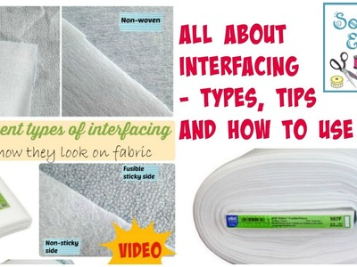 Looking at different types of interfacing