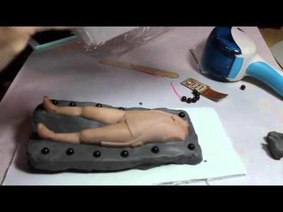 Making a Silicone Mold, Pt. 1 -MakingFairies.com & SculptUniversity.com