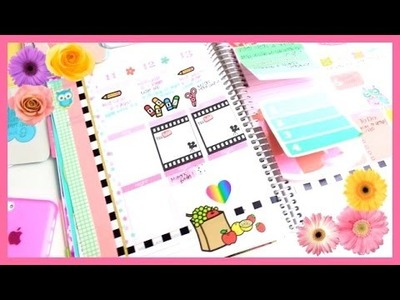 Plan With Me! #2   Decorating My Erin Condren Planner