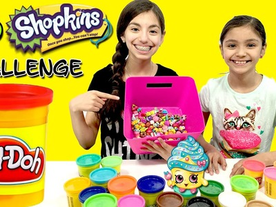 Shopkins Season 4 PLAY DOH CHALLENGE | 100 Shopkins | KidToyTesters