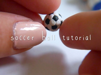 Soccer ball tutorial (polymer clay)