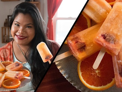 Sparkling Orange Popsicles l Jen Phanomrat