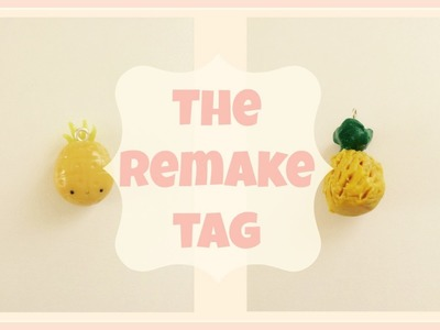 The REMAKE Tag! My old charms remade!