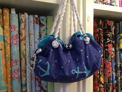 Towel Beach Bag Sewing Tutorial