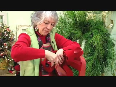Wreath Tips With Nancy; Make a Fresh Christmas Door Wreath