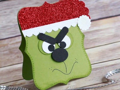 12 Days of Christmas Series Day 4: Grinch Punch Art Card
