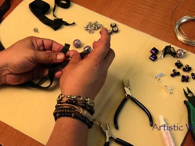 Artistic Wire-Mesh Necklace with Fernando Dasilva