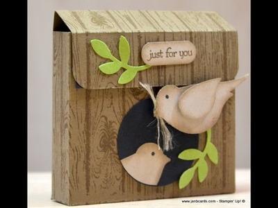 Birdhouse Box - JanB UK Stampin' Up! Demonstrator Independent