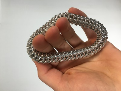 Box Chain Bracelet Tutorial