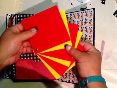 Disney file folder album