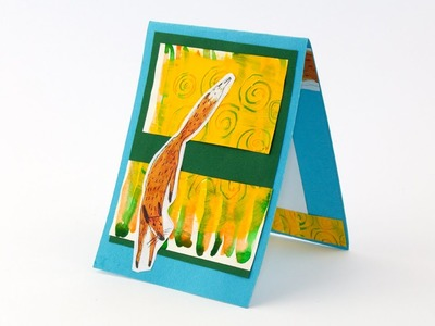 DIY Card Making: Fox Card