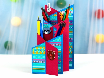 DIY Cascade Accordion Style Card