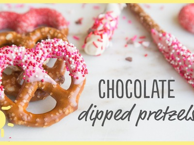 EAT | Chocolate Dipped Pretzels