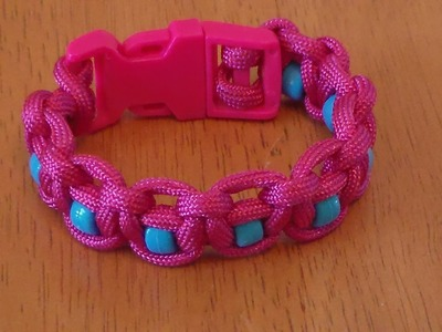 How to Make a Beaded Paracord Bracelet - Part 2