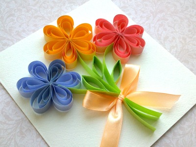How to Make a Beautiful Card, Mother's Day card, Wedding card, Birthday party card