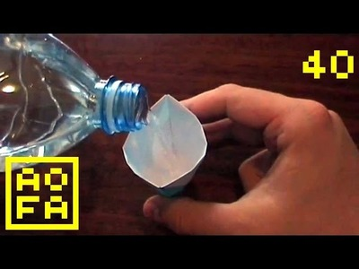 How to make an Origami Drinking Cup . for all (40)