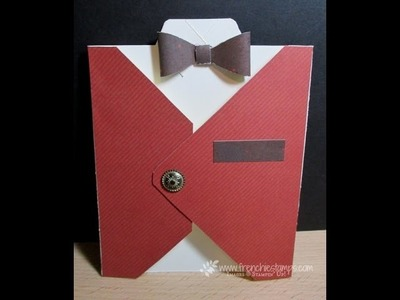 Men Vest with Envelop punch board