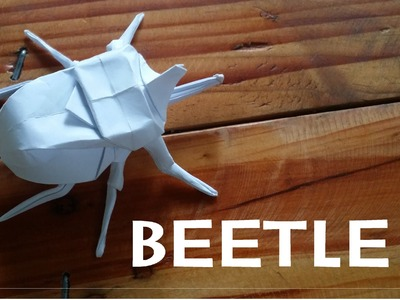 Origami How to make a Beetle