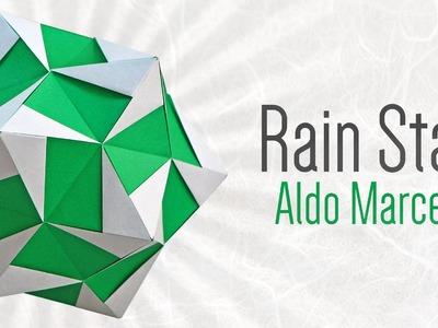 Origami Kusudama: Rain Star (Aldo Marcell)