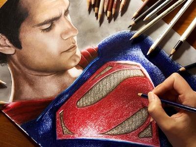 Speed Drawing: Superman - Henry Cavill | Jasmina Susak