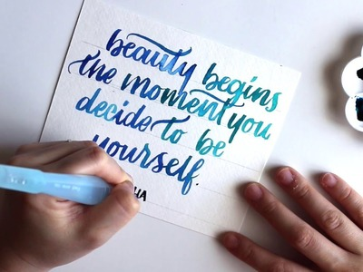 Watch Me Write: Brush Lettering
