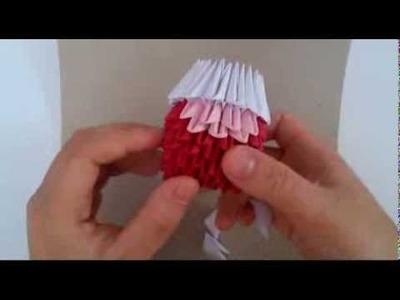 3D origami hellokitty new version part 2