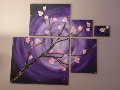Cherry Blossom Painting Timelapse