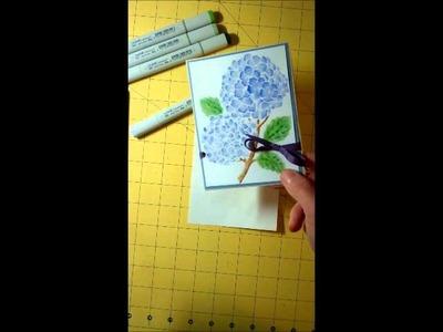 Copic Marker Dreamweaver Stencil Coloring Tutorial.wmv