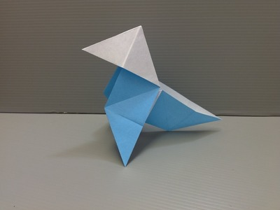 Daily Origami: 149 - Pajarita