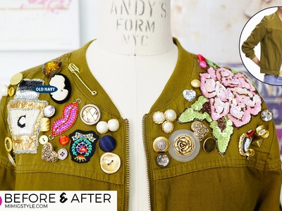 DIY: How To Glam Up Your Jacket