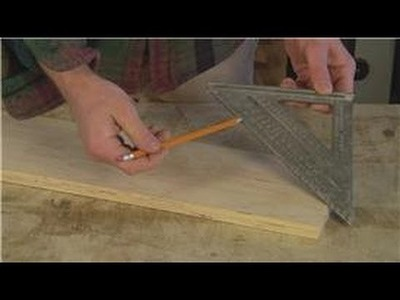 Home Remodeling Tips : How to Set an Angle with a Speed Square