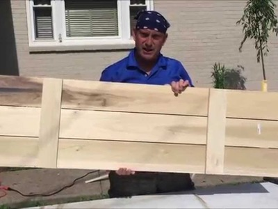 How to Build a Board and Batten Shutter