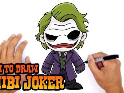 How to Draw Joker (Chibi)- Kids Art Lesson