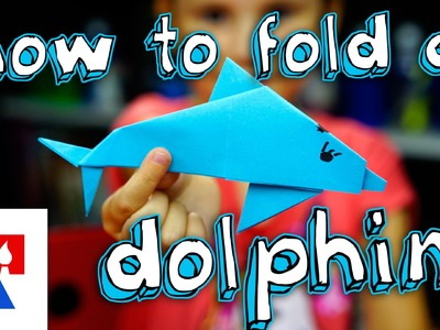How To Fold An Origami Dolphin