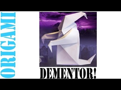 How To Make a (ORIGAMI) Paper: Harry Potter Dementor - TCGames [HD]!