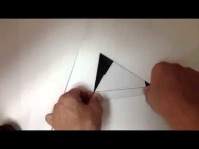 How to make a origami Snoopy