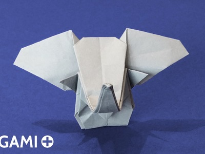 How to Make an Origami Elephant Head