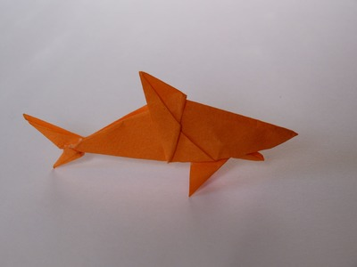 How To Make Scott's Origami Shark (Mano) 1 of 2