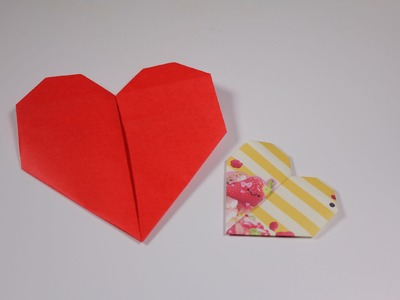 How to origami : Easy Heart