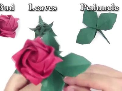 INTRO - Kawasaki Rose  - Yakomoga Origami tutorial