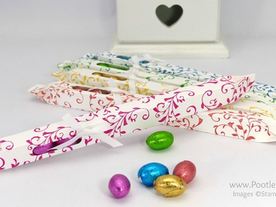 Long Thin Easter Egg Box Tutorial using Stampin' Up! products
